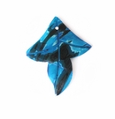 Small Blue Leaf Spotted wholesale pendants