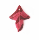 Small Red Leaf Spotted wholesale pendant