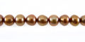 Pearl Potato Light Bronze 5.5-6mm wholesale beads