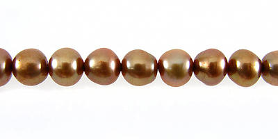 Pearl Potato Light Bronze 5.5-6mm wholesale beads