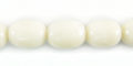White limestone 11x8mm oval wholesale beads