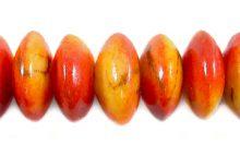 Apple coral limestone saucer 15mm