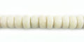White limestone 6mm heishi wholesale beads
