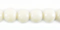 8mm round polished white limestone wholesale beads