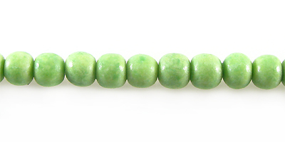 Green limestone round 5mm wholesale beads
