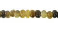 Grey horn nuggets wholesale beads