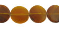 Golden horn side drill disc 20 wholesale beads