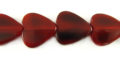 Red Horn Heart Beads 15mm wholesale beads