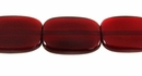 Red Horn Flat Rectangle 15x20mm wholesale beads