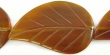 Golden horn leaf 26x42mm