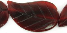 Red horn leaf 26x42mm