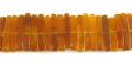 15x15mm golden horn sticks wholesale beads