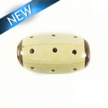 inlaid white/brown coco barrel wholesale
