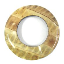 Coconut shell 70mm donut ipil-ipil inlay