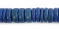 Coco wheels 10mm Blue wholesale beads