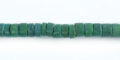 Coco heishi 4-5mm green wholesale beads