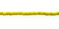 Coco heishi 2-3mm yellow wholesale beads