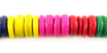 Coco pukalet 10mm multicolor wholesale beads
