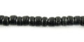 Coco round 4-5mm black wholesale beads