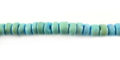 Coco round 4-5mm aqua wholesale beads