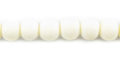 Whie bone round 6mm wholesale beads