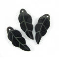 Tab shell leaf shape earring component