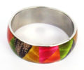 Wholesale multi-colored jewelry bangles
