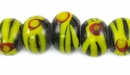 Indonesian manikmanik Yellow wholesale beads