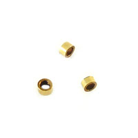 wholesale Crimp Bead 2x1mm Gold Filled