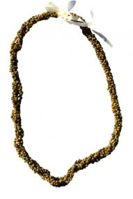 "Green Monggo shell necklace 32"" wholesale"