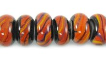 Indonesian glass bead 8 std wholesale beads