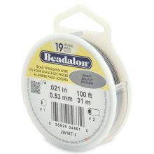 wholesale Beadalon 19 100' sp .53mm