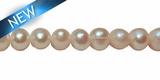 Pearl potato white 6-7mm wholesale beads