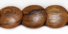 Robles wood round double side disc 22mm