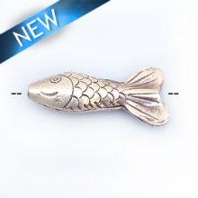 Thai silver bead fish 10-15mm width