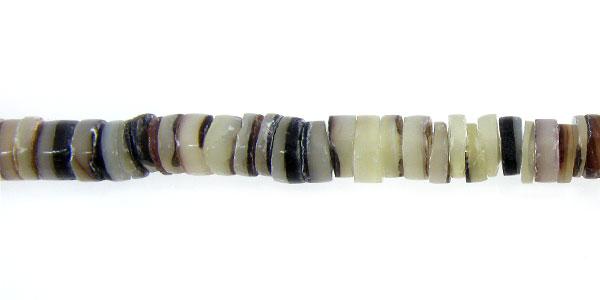 Hammer shell heishi 2-3mm