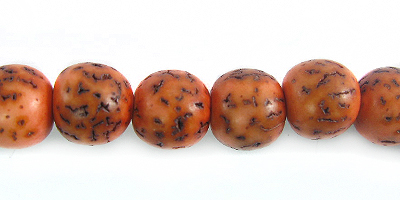 Salwag 8mm round - amber wholesale beads