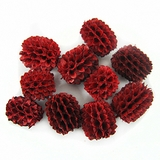 Agoha Seed Beads Red