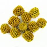 Agoha Seed Beads Yellow