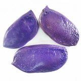 Patani seeds colored purple