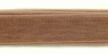 Organza Ribbon 1/2? light brown wholesale
