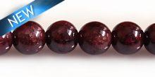 Garnet round beads 8mm DYED wholesale gemstones