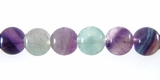 Fluorite 6mm round beads wholesale gemstones