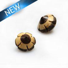 Natural coco insert Swirl design wholesale