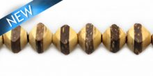 Natural coco diamond beads with insert wholesale beads