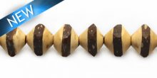 Natural coco saucer insert wholesale beads