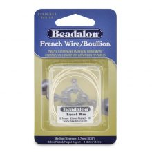 wholesale silver french wire MEDIUM 1M