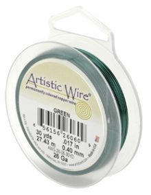 "wholesale ""Artistic Wire 22 Ga. Green 15yds"""