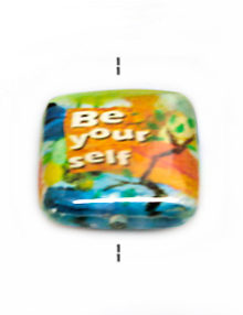 Laminated paper print be yourself 2.75mm