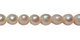 Pearl potato white 6-7mm wholesale beads